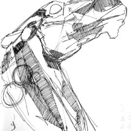 Horse Head. Study 2